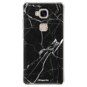 Plastové pouzdro iSaprio Black Marble 18 na mobil Huawei Honor 5X