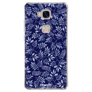 Plastové pouzdro iSaprio Blue Leaves 05 na mobil Huawei Honor 5X