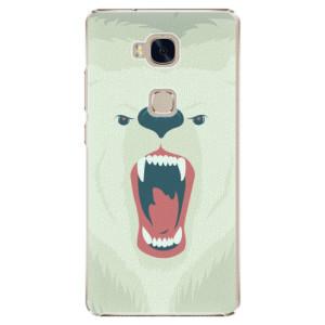 Plastové pouzdro iSaprio Angry Bear na mobil Honor 5X