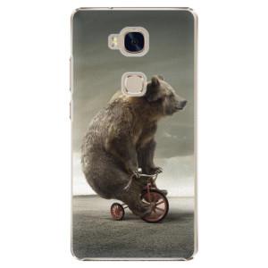 Plastové pouzdro iSaprio Bear 01 na mobil Huawei Honor 5X