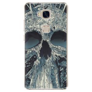 Plastové pouzdro iSaprio Abstract Skull na mobil Honor 5X