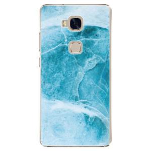 Plastové pouzdro iSaprio Blue Marble na mobil Huawei Honor 5X