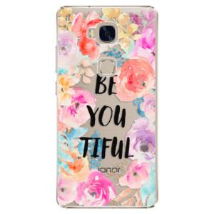 Plastové pouzdro iSaprio BeYouTiful na mobil Huawei Honor 5X