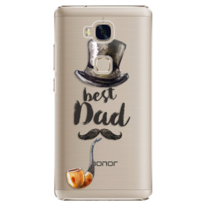 Plastové pouzdro iSaprio Best Dad na mobil Huawei Honor 5X