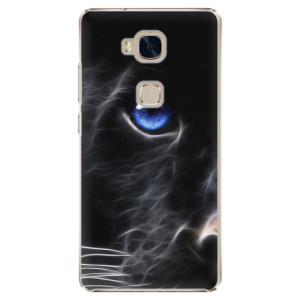 Plastové pouzdro iSaprio Black Puma na mobil Huawei Honor 5X