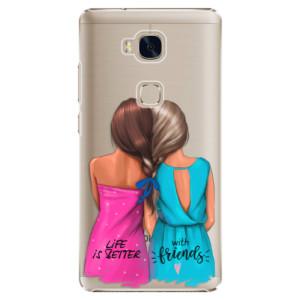 Plastové pouzdro iSaprio Best Friends na mobil Huawei Honor 5X
