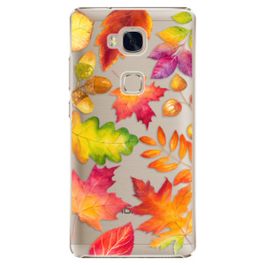 Plastové pouzdro iSaprio Autumn Leaves 01 na mobil Honor 5X