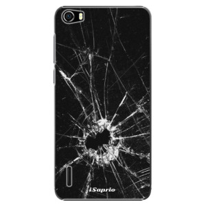 Plastové pouzdro iSaprio Broken Glass 10 na mobil Huawei Honor 6