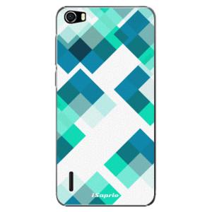Plastové pouzdro iSaprio Abstract Squares 11 na mobil Honor 6