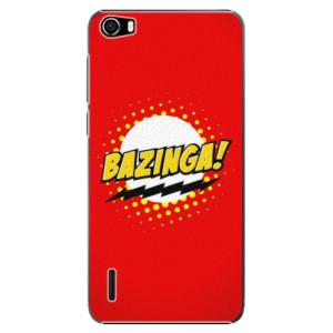 Plastové pouzdro iSaprio Bazinga 01 na mobil Honor 6