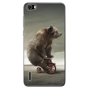 Plastové pouzdro iSaprio Bear 01 na mobil Huawei Honor 6