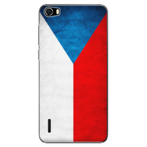 Plastové pouzdro iSaprio Czech Flag na mobil Huawei Honor 6
