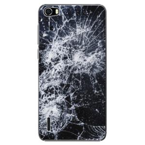 Plastové pouzdro iSaprio Cracked na mobil Huawei Honor 6