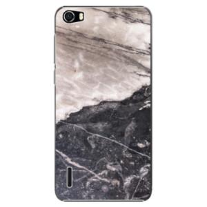 Plastové pouzdro iSaprio BW Marble na mobil Huawei Honor 6