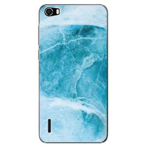 Plastové pouzdro iSaprio Blue Marble na mobil Huawei Honor 6