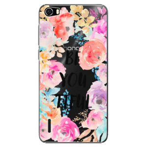 Plastové pouzdro iSaprio BeYouTiful na mobil Huawei Honor 6