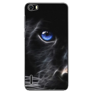 Plastové pouzdro iSaprio Black Puma na mobil Huawei Honor 6