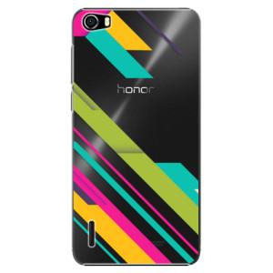 Plastové pouzdro iSaprio Color Stripes 03 na mobil Huawei Honor 6