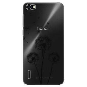 Plastové pouzdro iSaprio Three Dandelions black na mobil Huawei Honor 6