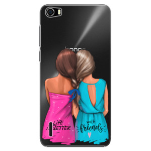 Plastové pouzdro iSaprio Best Friends na mobil Huawei Honor 6