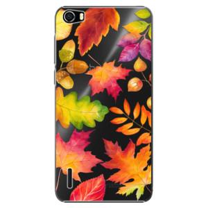 Plastové pouzdro iSaprio Autumn Leaves 01 na mobil Honor 6