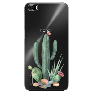 Plastové pouzdro iSaprio Cacti 02 na mobil Huawei Honor 6
