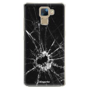 Plastové pouzdro iSaprio Broken Glass 10 na mobil Huawei Honor 7
