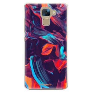 Plastové pouzdro iSaprio Color Marble 19 na mobil Huawei Honor 7