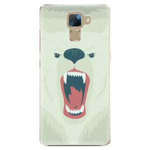Plastové pouzdro iSaprio Angry Bear na mobil Honor 7