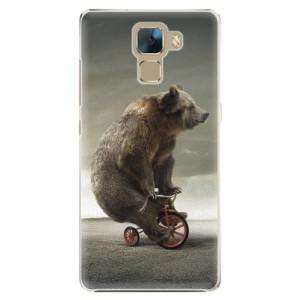 Plastové pouzdro iSaprio Bear 01 na mobil Huawei Honor 7