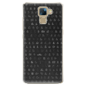 Plastové pouzdro iSaprio Ampersand 01 na mobil Honor 7