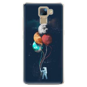 Plastové pouzdro iSaprio Balloons 02 na mobil Honor 7