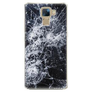 Plastové pouzdro iSaprio Cracked na mobil Huawei Honor 7