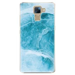 Plastové pouzdro iSaprio Blue Marble na mobil Huawei Honor 7