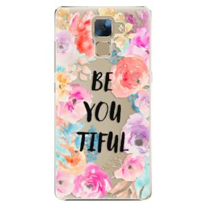 Plastové pouzdro iSaprio BeYouTiful na mobil Huawei Honor 7