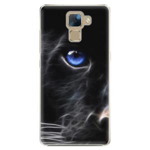 Plastové pouzdro iSaprio Black Puma na mobil Huawei Honor 7