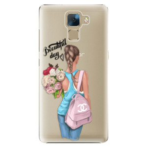 Plastové pouzdro iSaprio Beautiful Day na mobil Huawei Honor 7