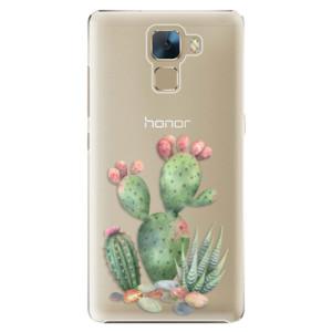 Plastové pouzdro iSaprio Cacti 01 na mobil Huawei Honor 7