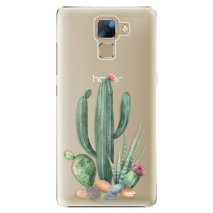Plastové pouzdro iSaprio Cacti 02 na mobil Huawei Honor 7