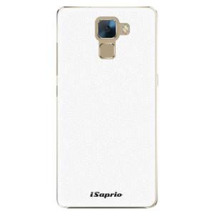 Plastové pouzdro iSaprio 4Pure bílé na mobil Honor 7