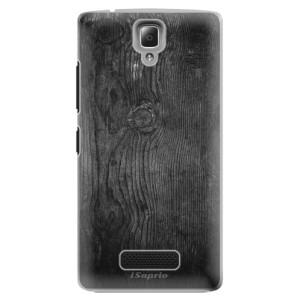 Plastové pouzdro iSaprio Black Wood 13 na mobil Lenovo A2010