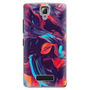Plastové pouzdro iSaprio Color Marble 19 na mobil Lenovo A2010