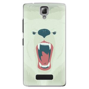 Plastové pouzdro iSaprio Angry Bear na mobil Lenovo A2010