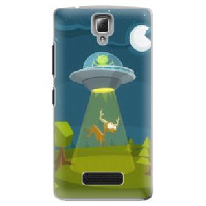 Plastové pouzdro iSaprio Alien 01 na mobil Lenovo A2010