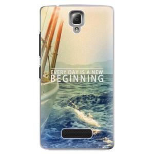 Plastové pouzdro iSaprio Beginning na mobil Lenovo A2010