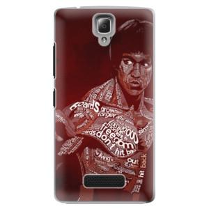 Plastové pouzdro iSaprio Bruce Lee na mobil Lenovo A2010