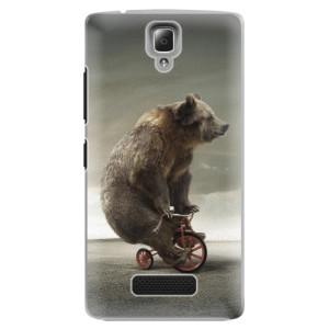Plastové pouzdro iSaprio Bear 01 na mobil Lenovo A2010