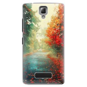 Plastové pouzdro iSaprio Autumn 03 na mobil Lenovo A2010