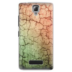 Plastové pouzdro iSaprio Cracked Wall 01 na mobil Lenovo A2010