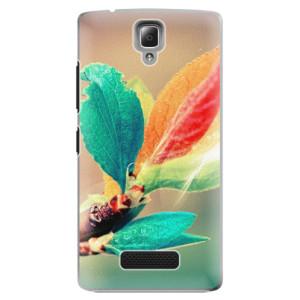 Plastové pouzdro iSaprio Autumn 02 na mobil Lenovo A2010